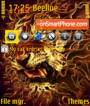 Lion theme screenshot