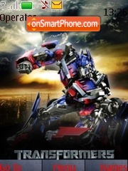 Optimus Prime theme screenshot