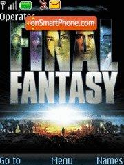 Скриншот темы Final Fantasy