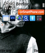 Darren Hayes theme screenshot