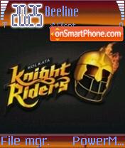 Kolkata Knight Rider theme screenshot