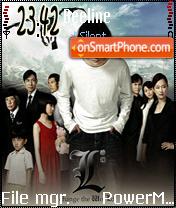 L Death Note theme screenshot