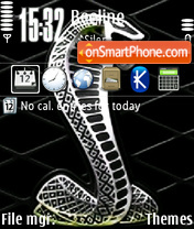 Скриншот темы Cobra 02