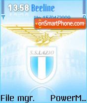 Ss Lazio theme screenshot
