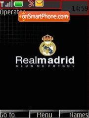 Real Madrid Fc 01 tema screenshot