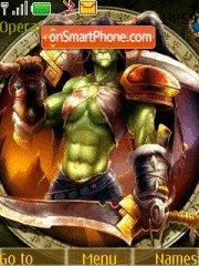 World of Warcraft 04 theme screenshot