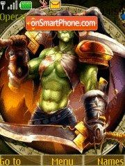 World of Warcraft 04 tema screenshot