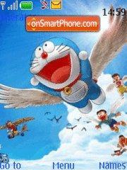 Up Up And Away Doraemon es el tema de pantalla