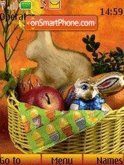 Скриншот темы Easter Basket