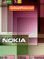 Nokia Logo theme screenshot