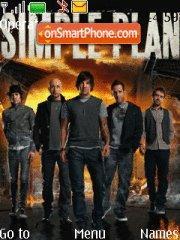 Simple Plan 01 es el tema de pantalla