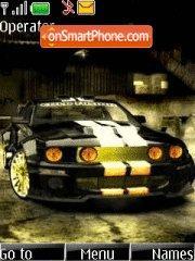 Mustang V3 tema screenshot