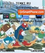 Duck Tales es el tema de pantalla