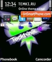 Tecktonik Neon theme screenshot