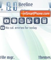 Скриншот темы Carbide v2