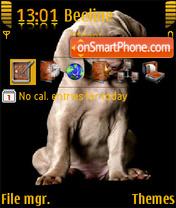 Скриншот темы Lovely dog