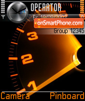 Speedometer tema screenshot