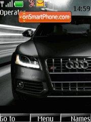 Audi S5 04 theme screenshot