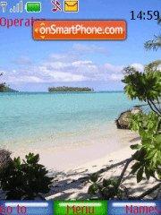 Tropical Heaven theme screenshot