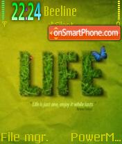 Life 04 es el tema de pantalla