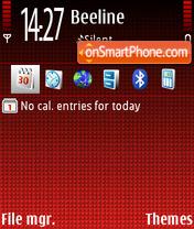 Call Red Def theme screenshot