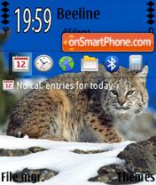 Lynx 01 theme screenshot