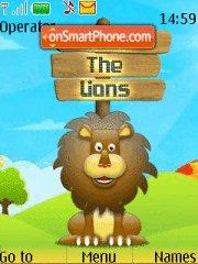 Save The Lions theme screenshot