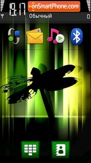 Dragon Fly tema screenshot