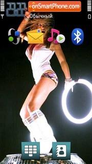 Geri Halliwell 01 es el tema de pantalla
