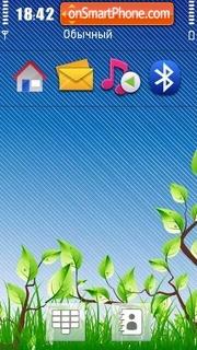 Spring FP2 theme screenshot