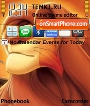 Lion King 02 theme screenshot