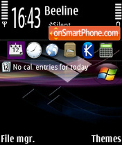 Windows 09 theme screenshot