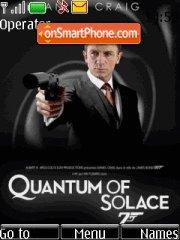 007. Quantum of solace theme screenshot
