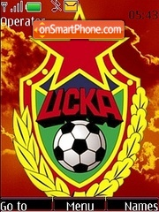 CSKA tema screenshot