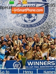 FC Zenit UEFA Cup theme screenshot