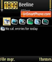 Golden 01 theme screenshot