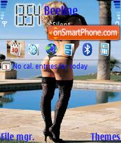 Black Stokings theme screenshot