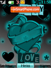 Only Love theme screenshot