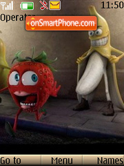Crazy Banana es el tema de pantalla