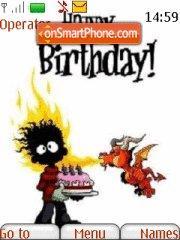 Happy Birthday 01 es el tema de pantalla