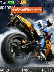 Sports Bike tema screenshot