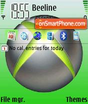 Скриншот темы Xbox360 01