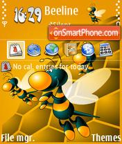 Not Beeline 01 es el tema de pantalla