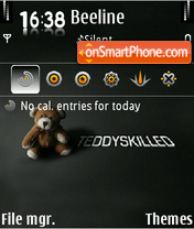 Teddy 06 es el tema de pantalla