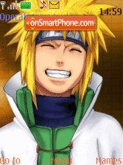 Yondaime tema screenshot