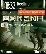 Скриншот темы Jungle 01