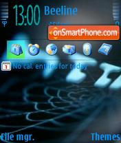 Pautina theme screenshot