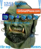 Скриншот темы Monster
