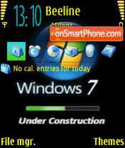 Windows7 theme screenshot
