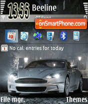 Aston Martin tema screenshot
